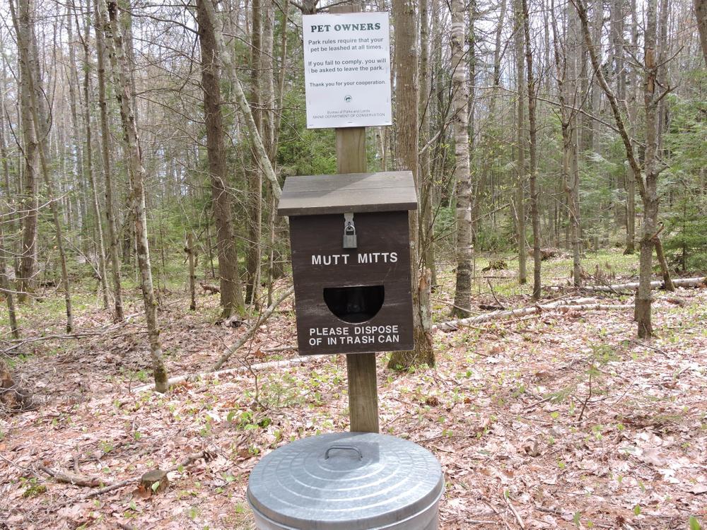 Great amenity for dog visitors. (Credit: Kim Hansen)