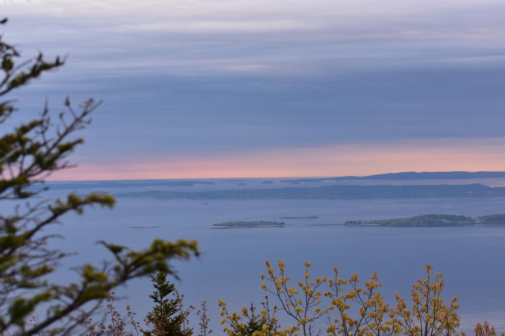 Penobscot Bay at dawn (Credit: Sheila Ford  sheilafordphotography.com)