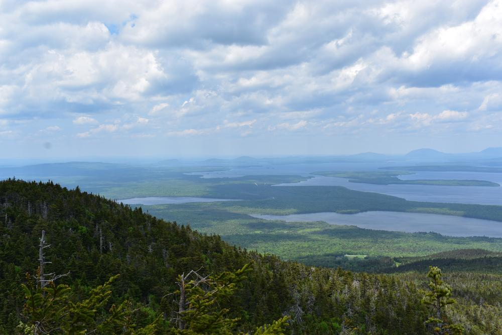 View from the scenic overlook Big Moose Mt (Credit: Sheila Ford  sheilafordphotography.com)