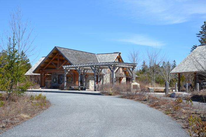 Visitor Center (Credit: Nicole Grohoski)