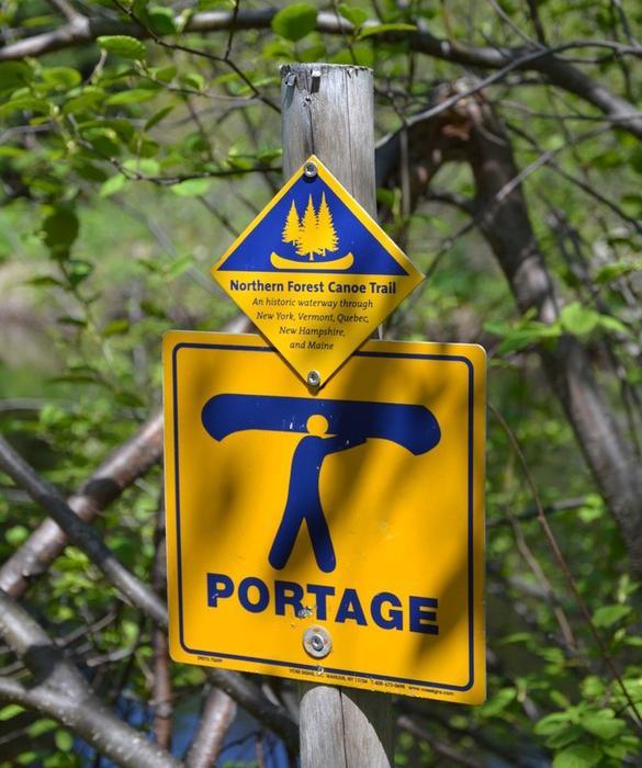 Portage at Hardscrabble Road (Credit: Nicole Grohoski)