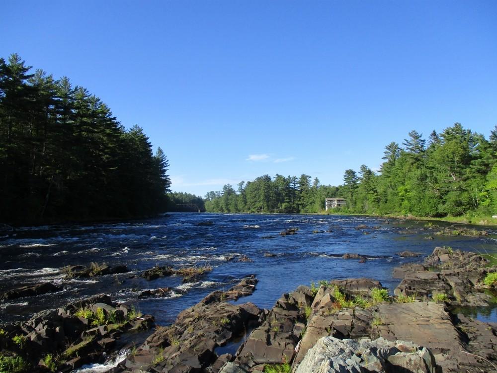 East Branch Penobscot River (Credit: Evan Watson)