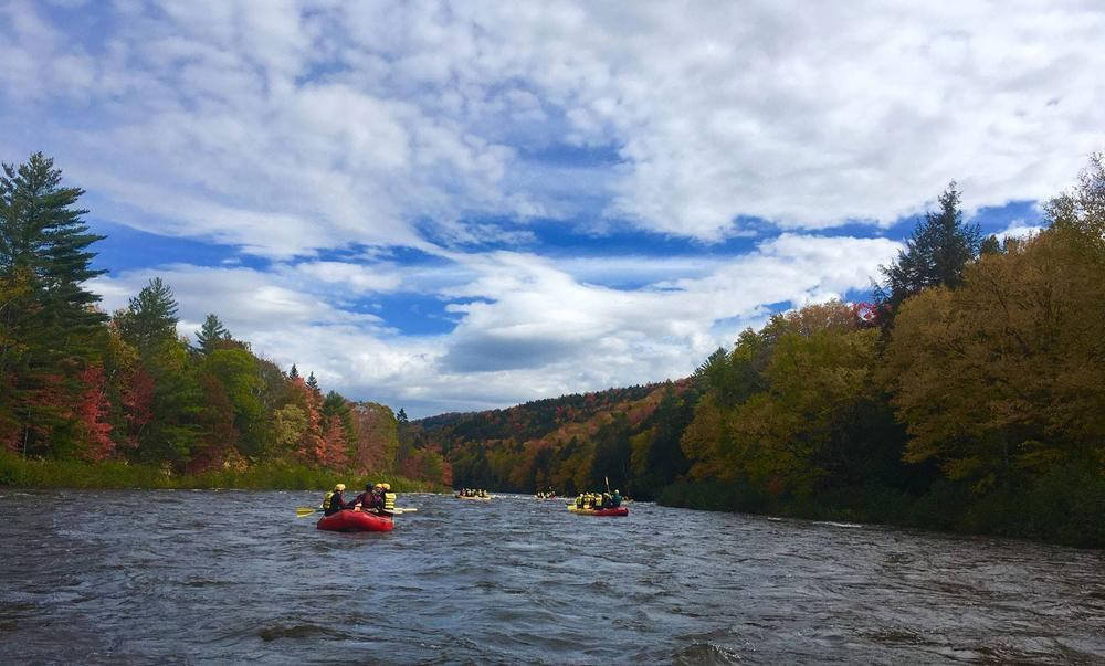 Fall float trip (Credit: Northern Outdoors)