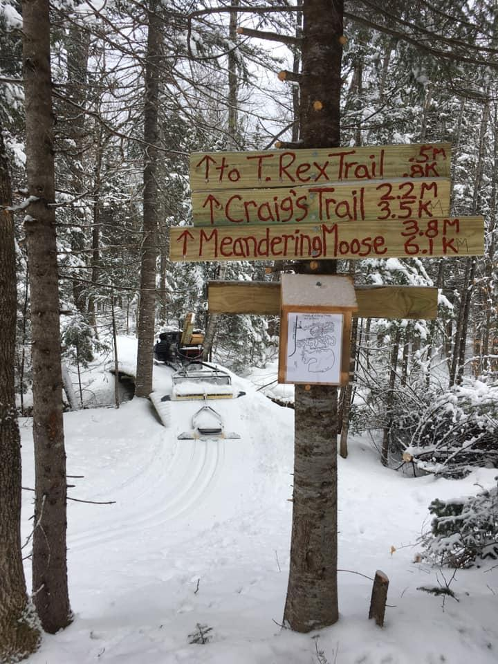 A Fierce Chase Cross-Country Ski Trails