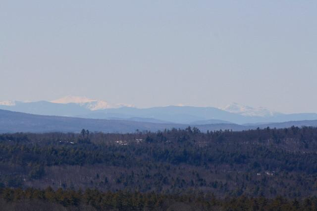 Mounts Washington & Adams from Monument Hill (Credit: Cynthia Brackett-Vincent)