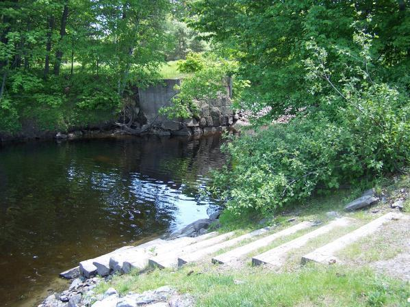 Snoopy Access (Credit: Androscoggin River Watershed Council)