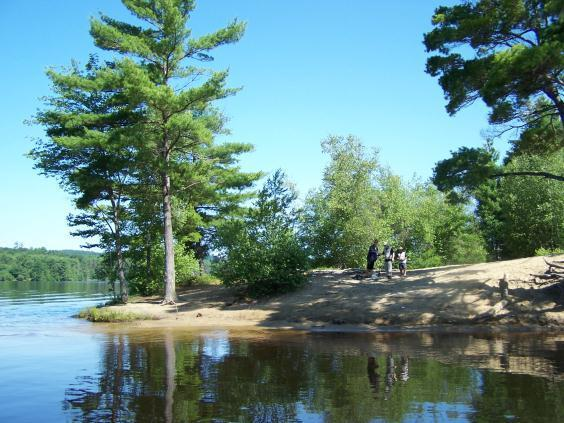 Cherry Pond, Greene (Credit: Androscoggin River Watershed Council)