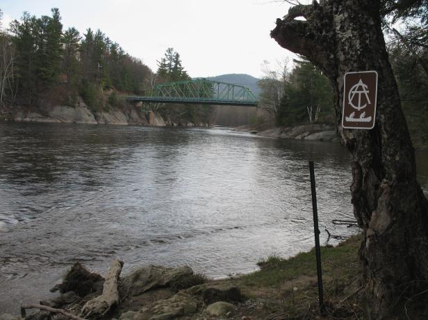 Gilead Bridge (Credit: Androscoggin River Watershed Council)