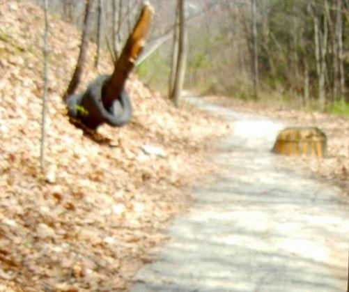 Manhole pipe & cover, High School side of trail (Credit: Healthy Oxford Hills)
