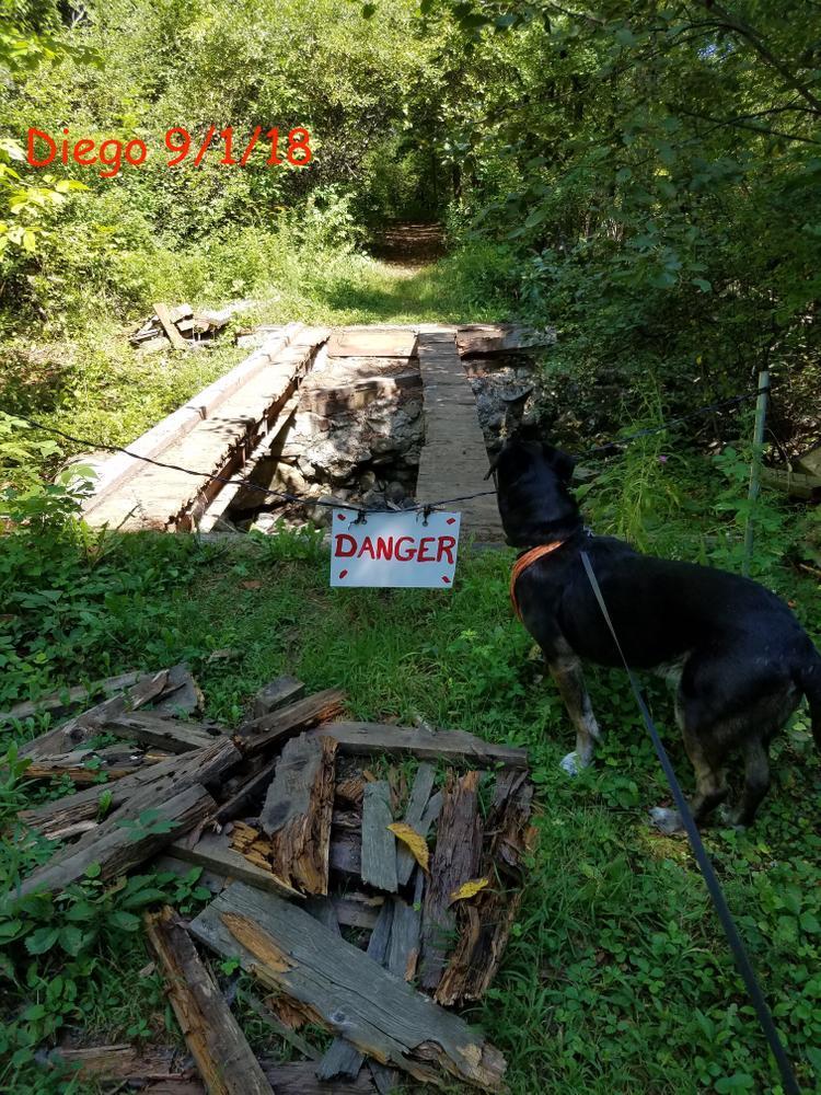 Old Narrow Gauge Rail Trail