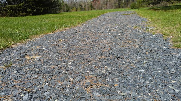 Accessible trail surface, May 2019 (Credit: CCGIS)