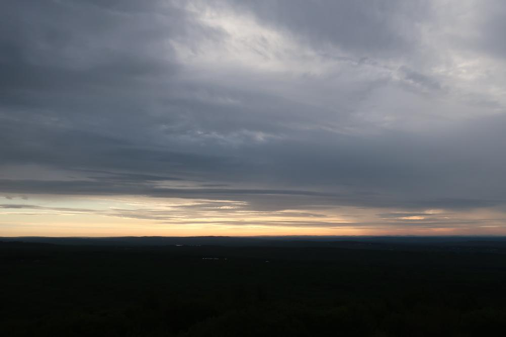 Tower view looking East (Credit: M. Morris)