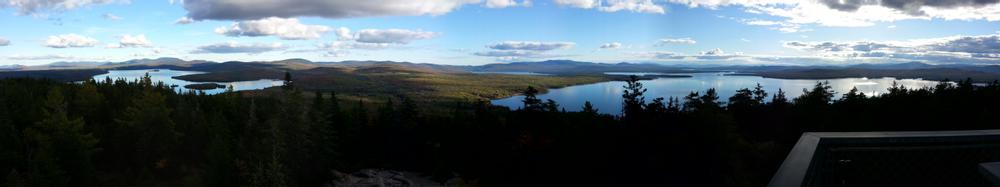 Rangeley, Mooselookmeguntic, and (zoom in) Richardson Lake (Credit: MtnGotDad)