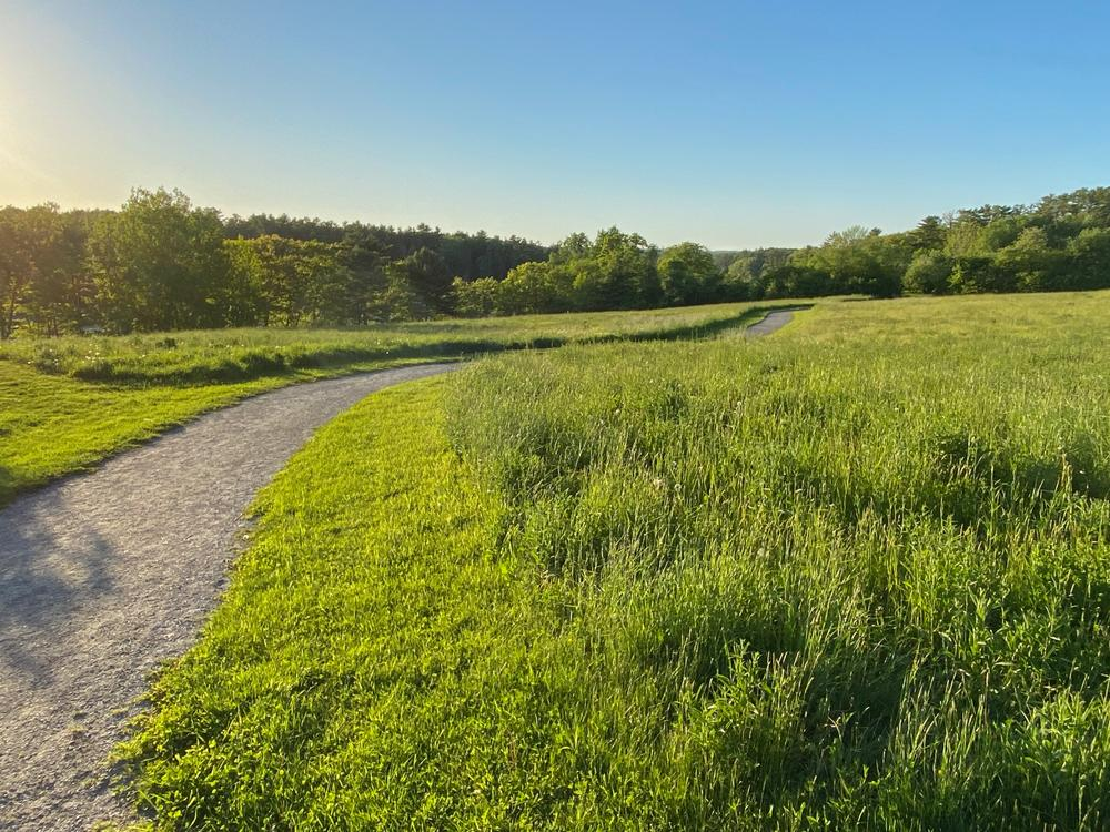 Accessible trail at Round Top Farm (Credit: Coastal Rivers)