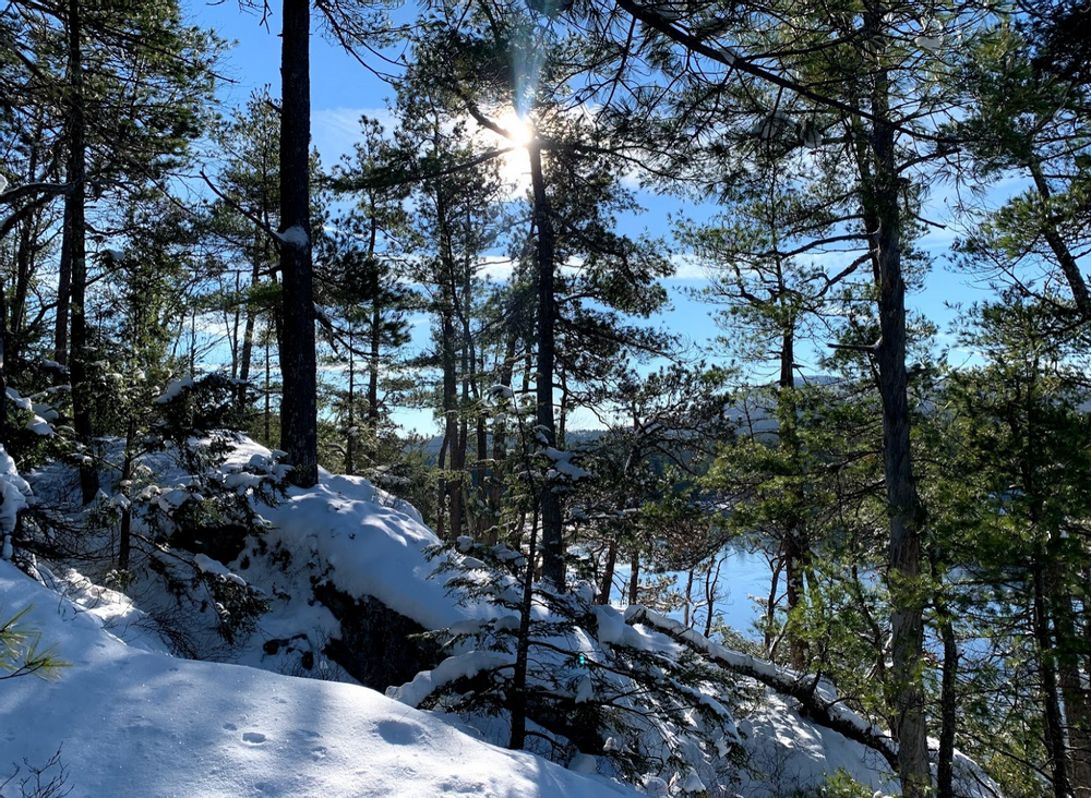 Winter Hiking (Credit: Paula Bourque)