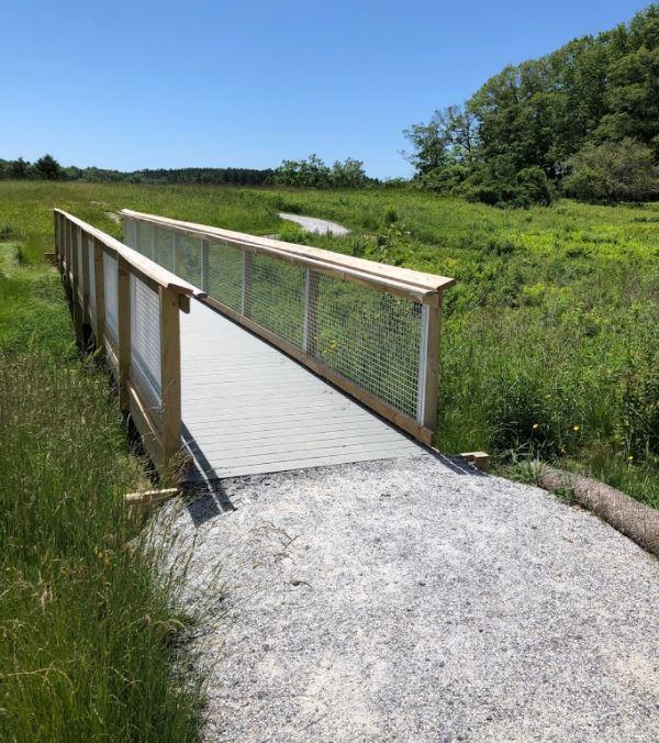Bridge Along Universal Access Trail (Credit: BRLT)