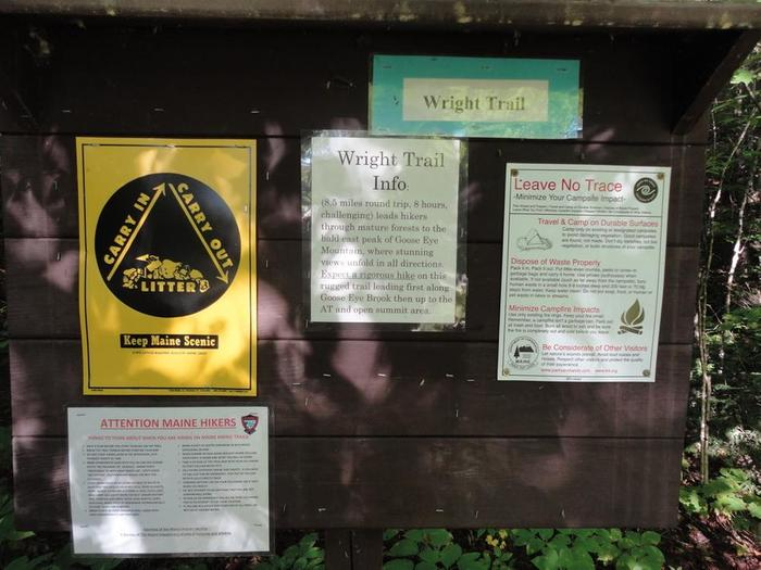 """Wright Trail signage, should we worry that it says """"keep open for rescue vehicles""""? :) (Credit: Remington34)"""