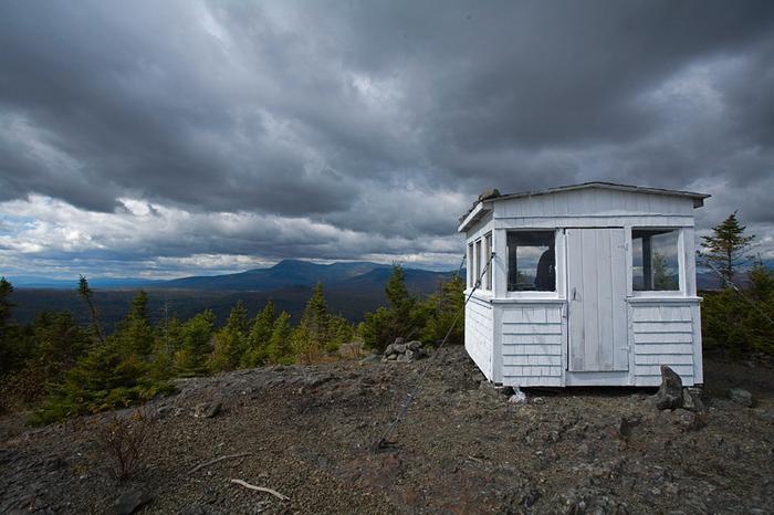 Firetower on Deasey Mountain (Credit: Bill Duffy)