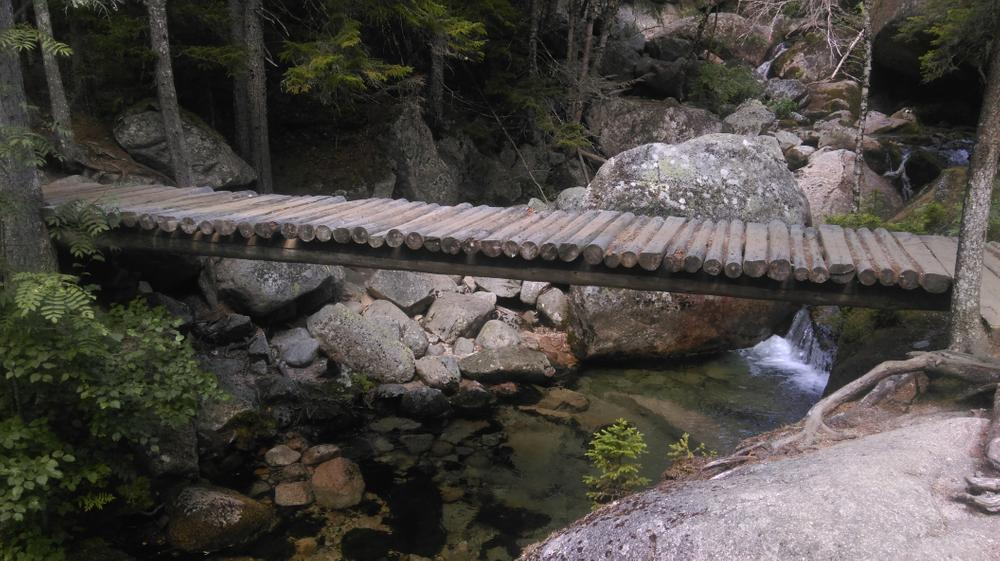 Bridge at Katahdin Stream Falls