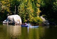 Kayaking near Pulpit Rock (Credit: Tom Meridith/USFWS)