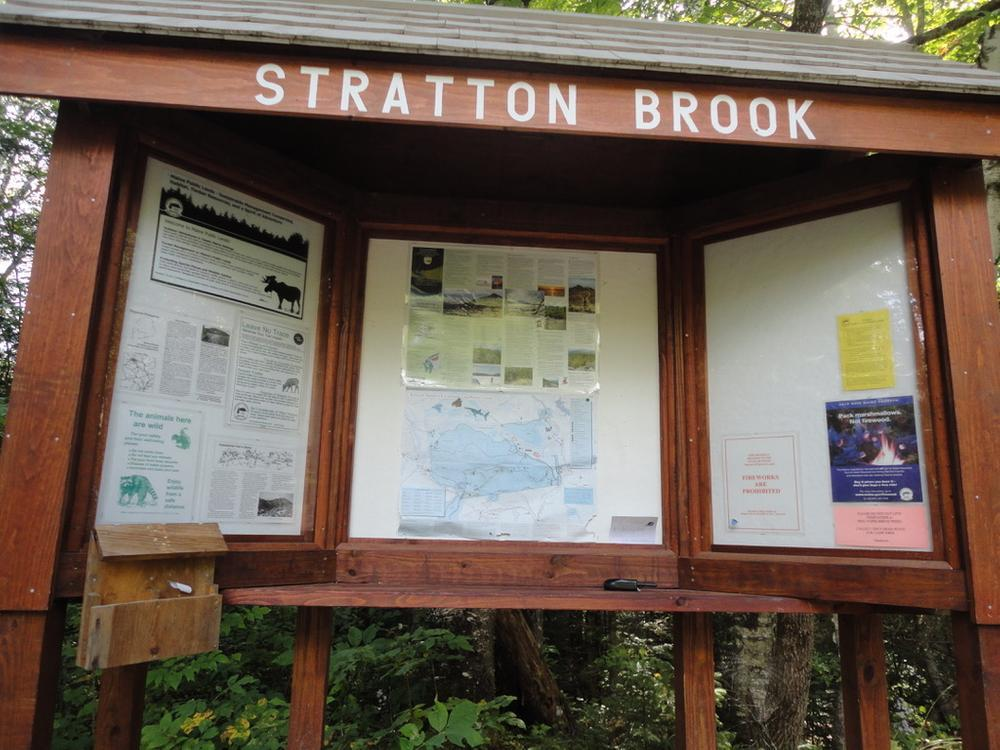 Kiosk for Fire Warden's Trail to Avery's Peak (Credit: Remington34)