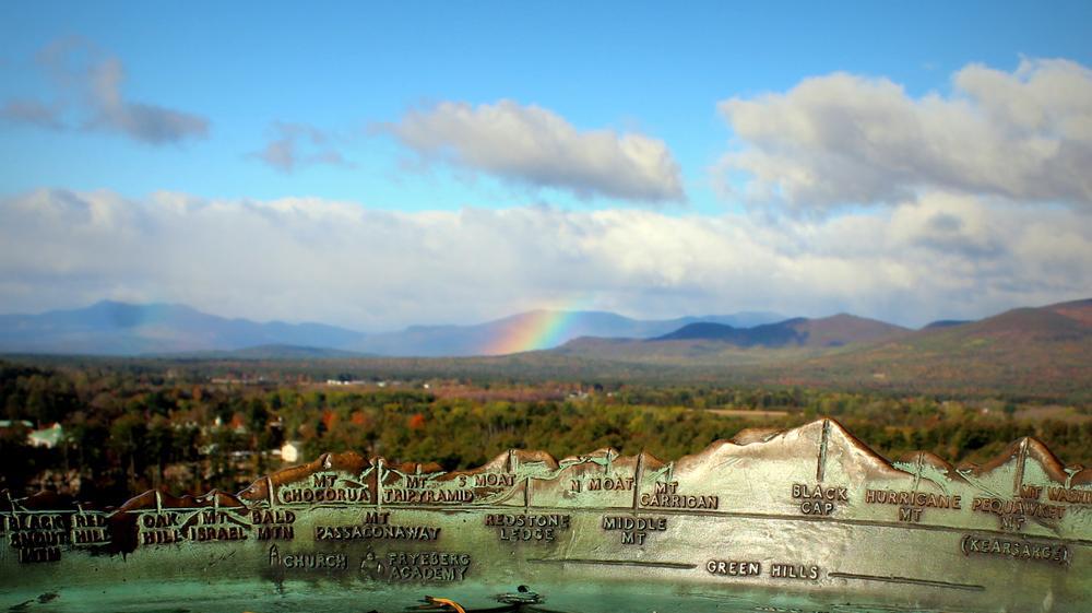 Rainbow over Fryeburg (Credit: gary janson)