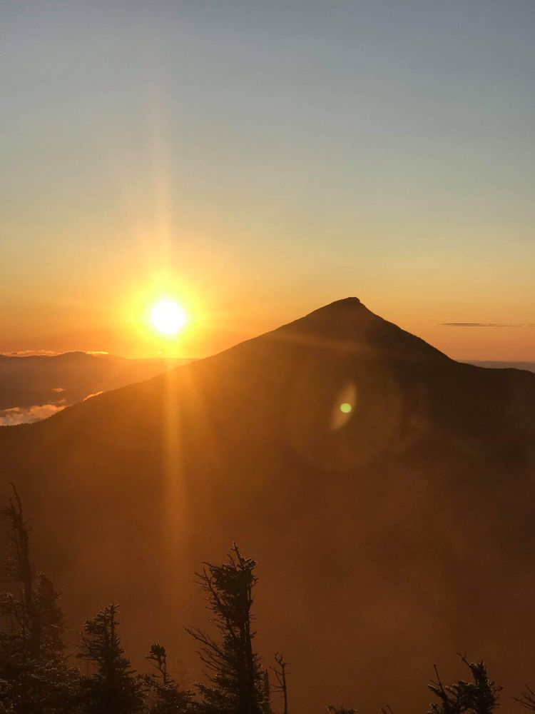 Sunrise from the North Horn