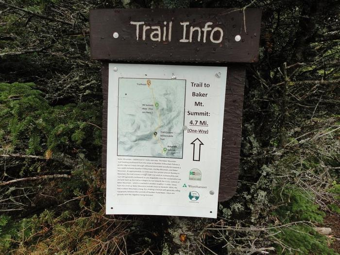 Sign for new trail (Credit: Remington34)