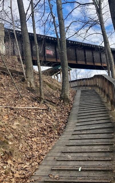 Ramp by the bridge