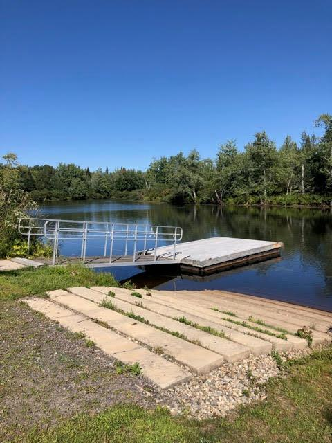 NWR boat launch (Credit: Androscoggin River Watershed Council)