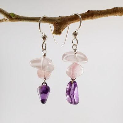 Polished Maine Stone Earrings