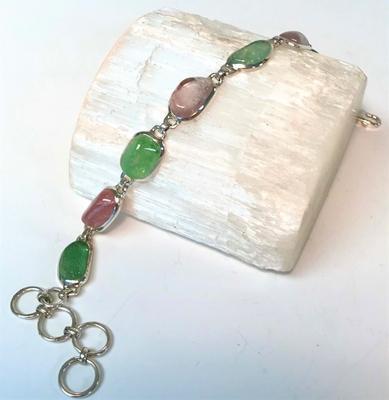 Maine Tourmaline Gemstone Bracelet