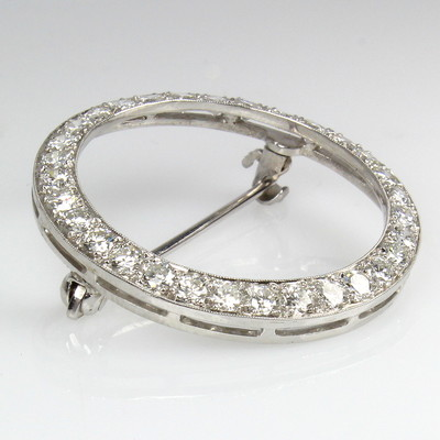 Diamond Brooch/Pin