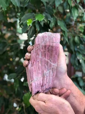Pink Maine Tourmaline Crystal ~ Rubellite Tourmaline