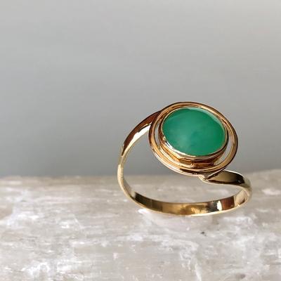 Chrysoprase Ring