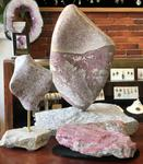 Maine Rubillated Granite from Black Mountain ~ Hand Carved Sculpture