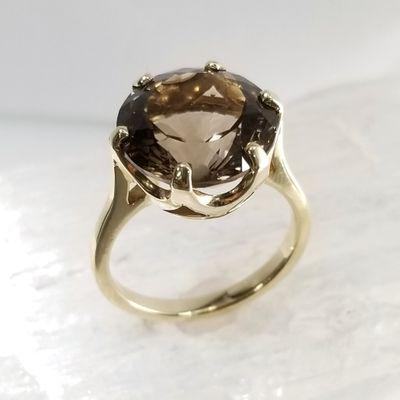 Maine Smokey Quartz Ring