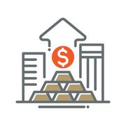 Icon of dollar symbol