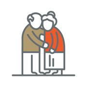 Icon of grandparents