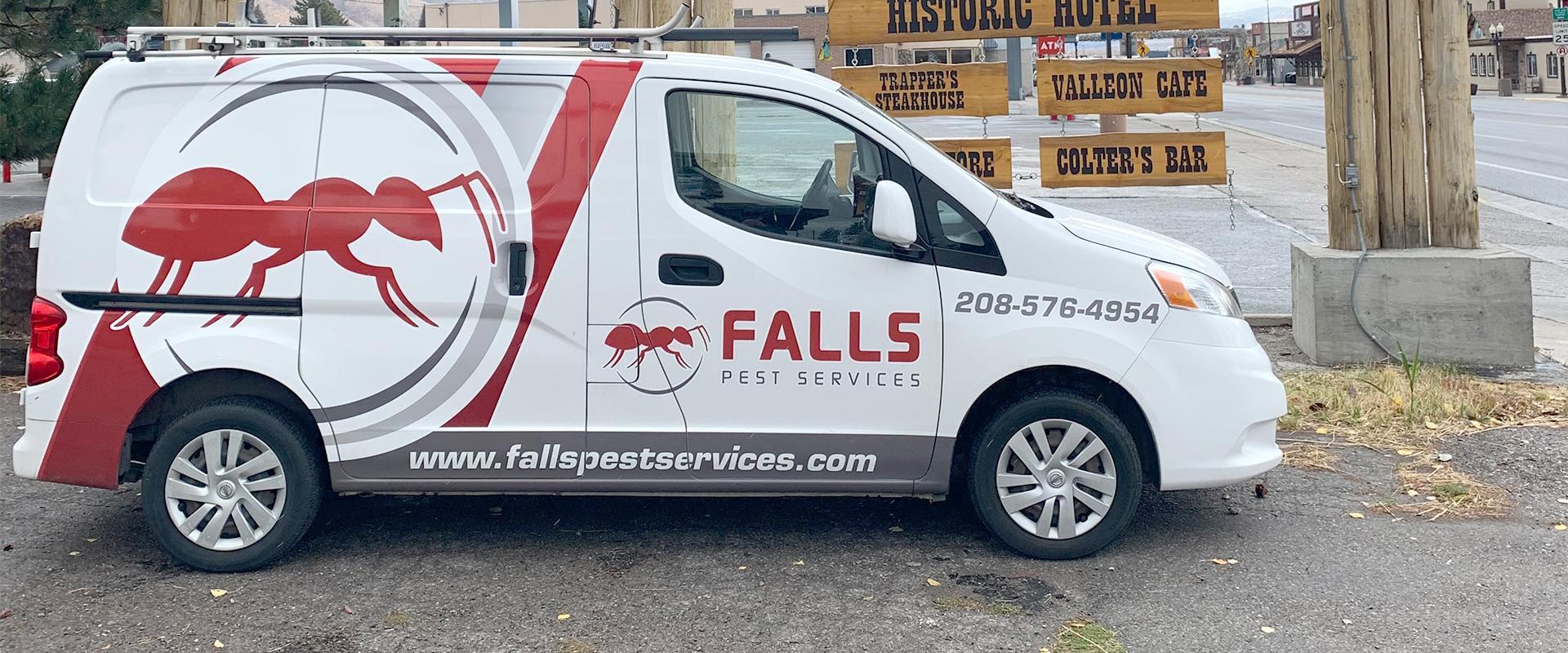 company vehicle in idaho falls