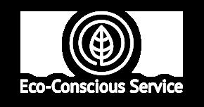eco conscious service logo
