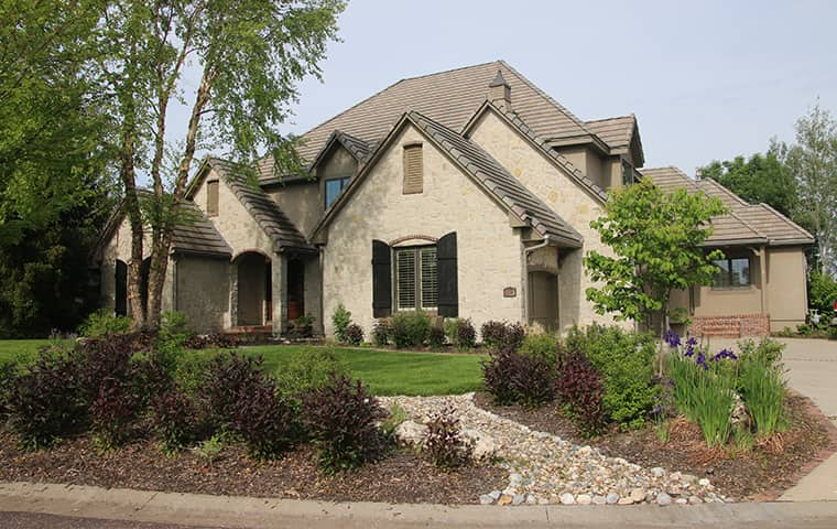 street view of a home in lenexa kansas
