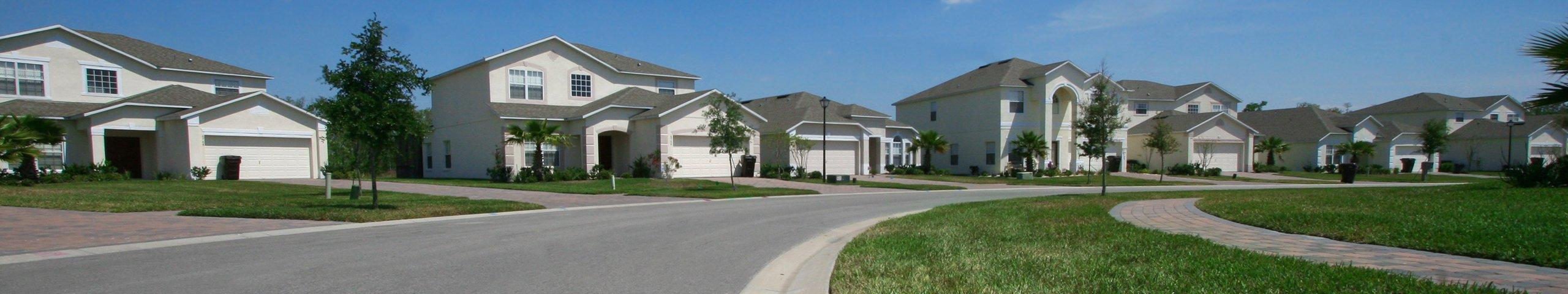 suburban neighborhood in jacksonville florida