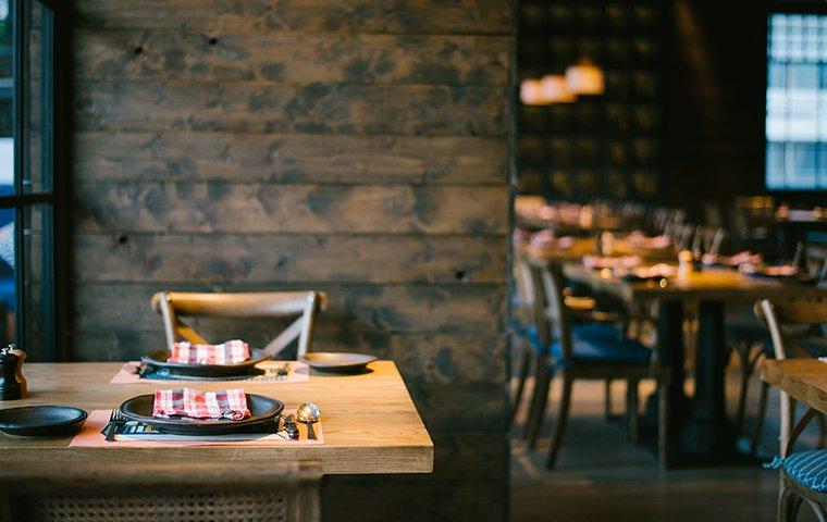 interior of a restaurant dining area in danbury connecticut
