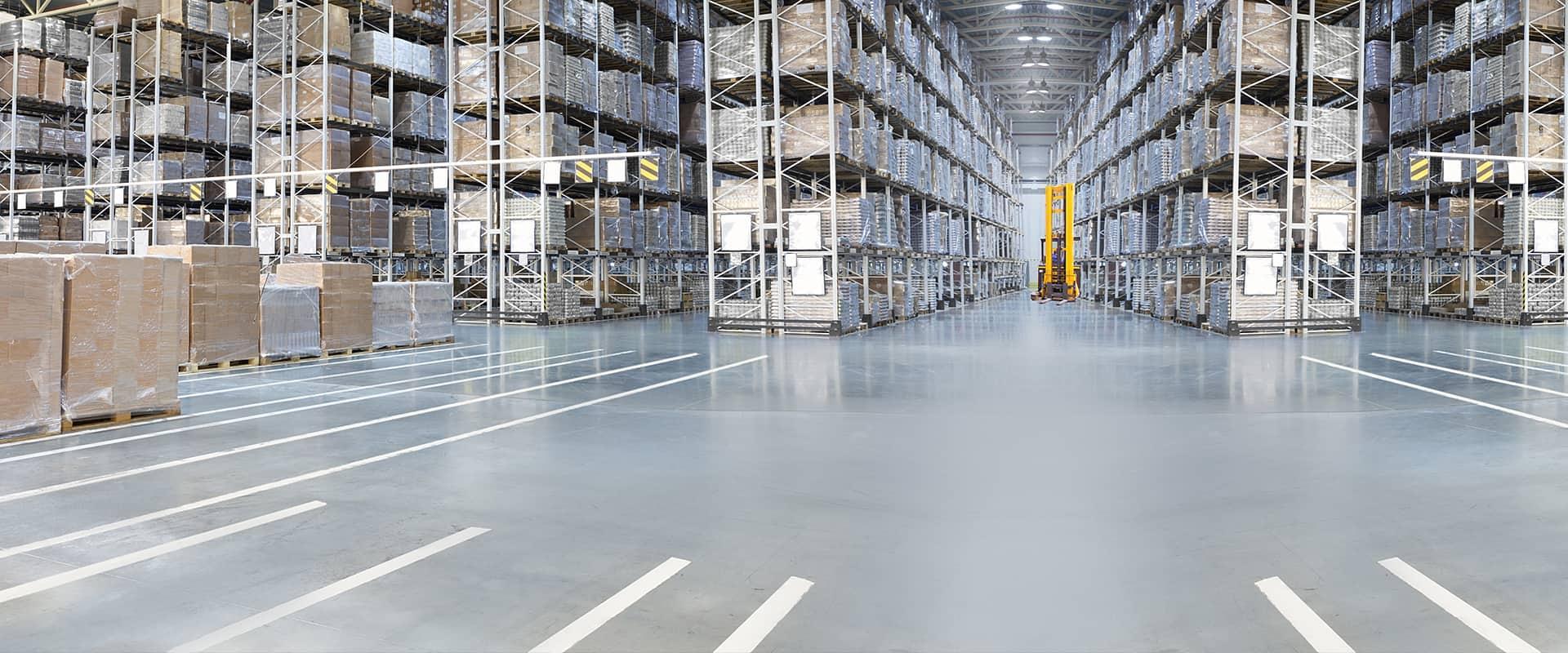 interior view of a warehouse in erie colorado