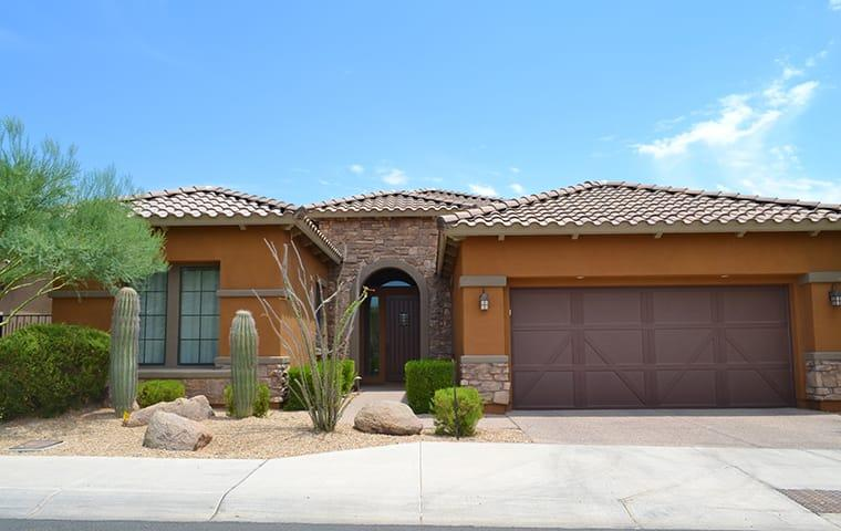 a san tan valley arizona home protected with residential pest control year round
