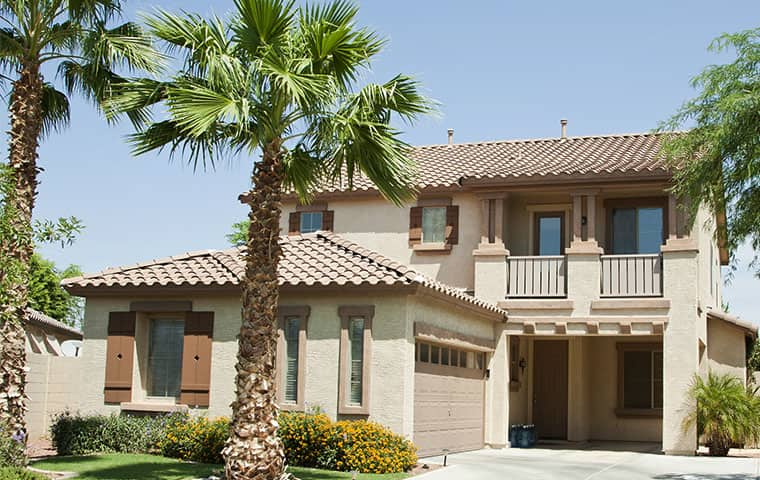 street view of a residential home in chandler arizona