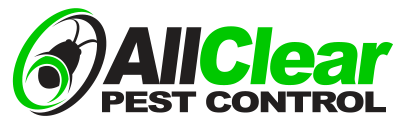 all clear pest control logo