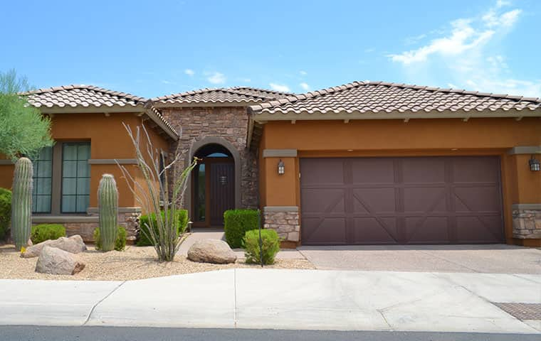 street view of a residential home in mesa arizona