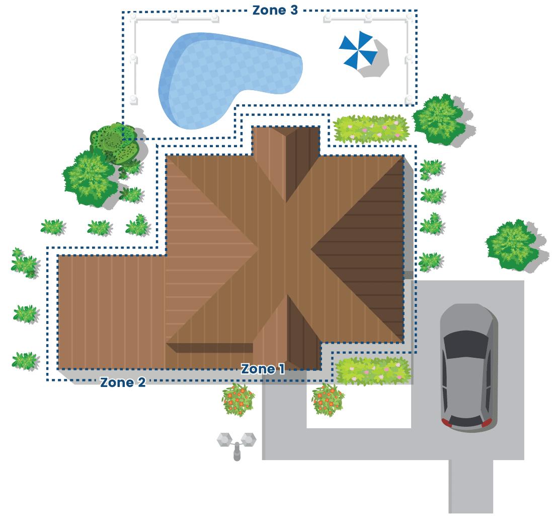 diagram of a tulsa home